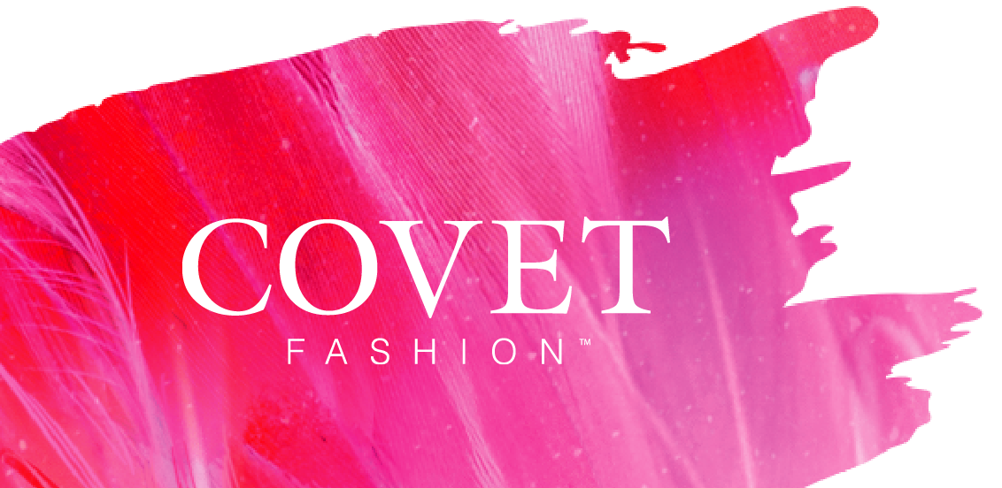 covet logo with painted style